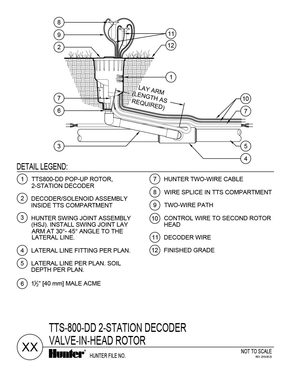 CAD - TTS-800-DD 2-Station Decoder