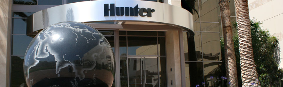 Hunter Industries has made sales in over 125 countries