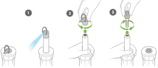 Sprays - Nozzle Installation | Hunter Industries
