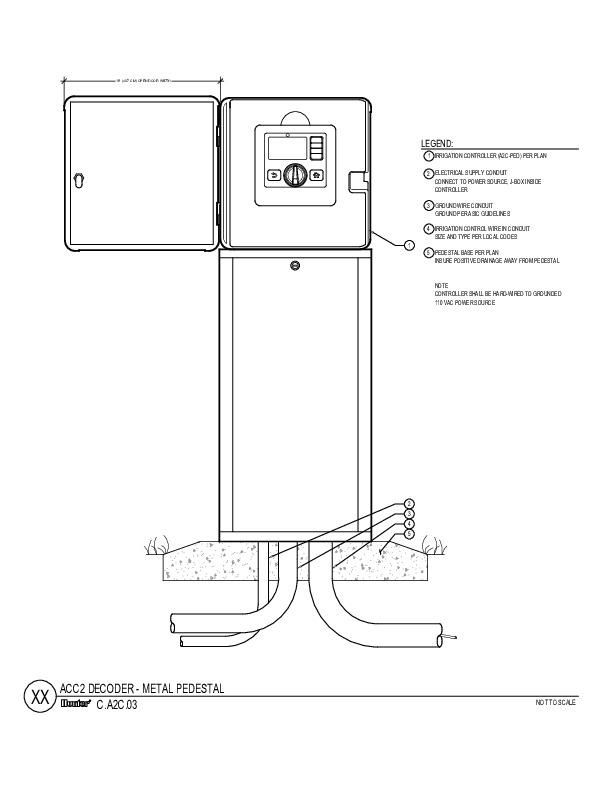 CAD - ACC2 Decoder Metal Pedestal