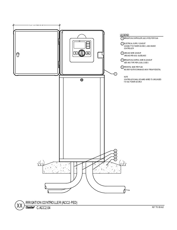 CAD - ACC2 Metal Pedestal