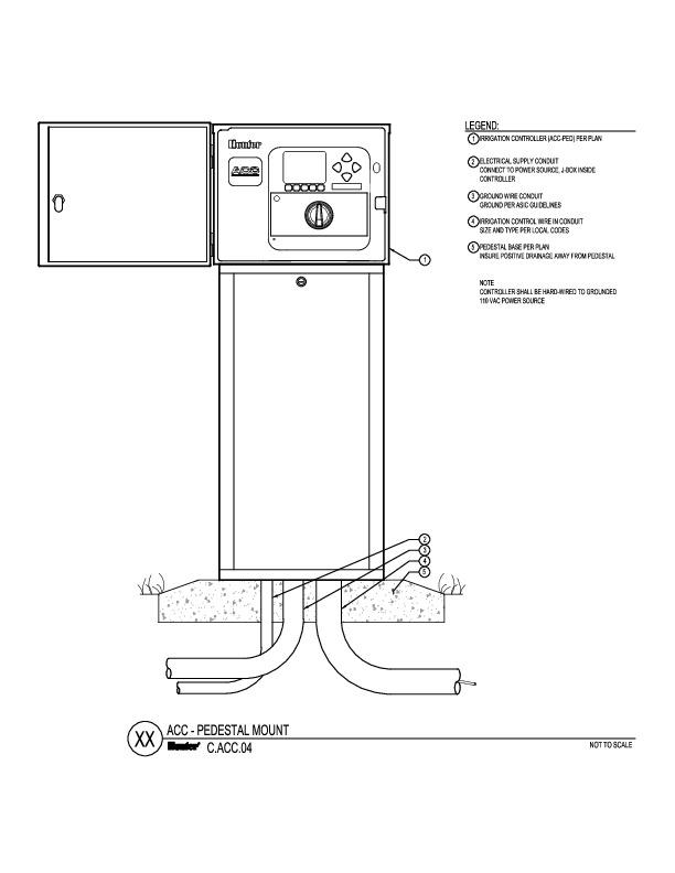 CAD - ACC Pedestal