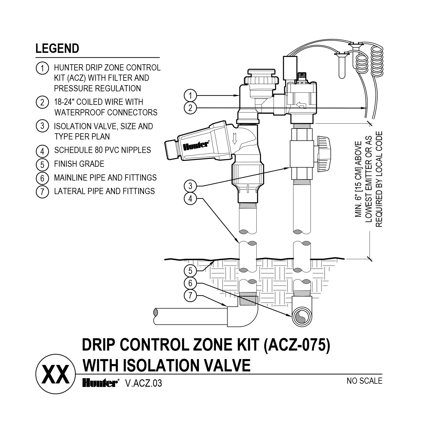CAD - ACZ-075 with Shutoff Valve
