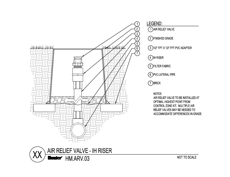CAD - Air Relief IH Riser