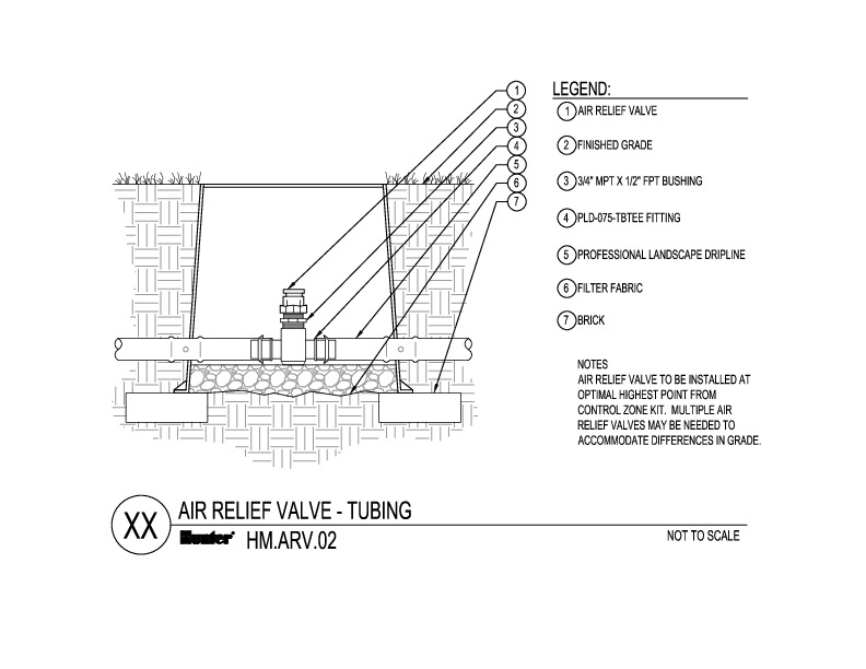 CAD - Air Relief Tubing