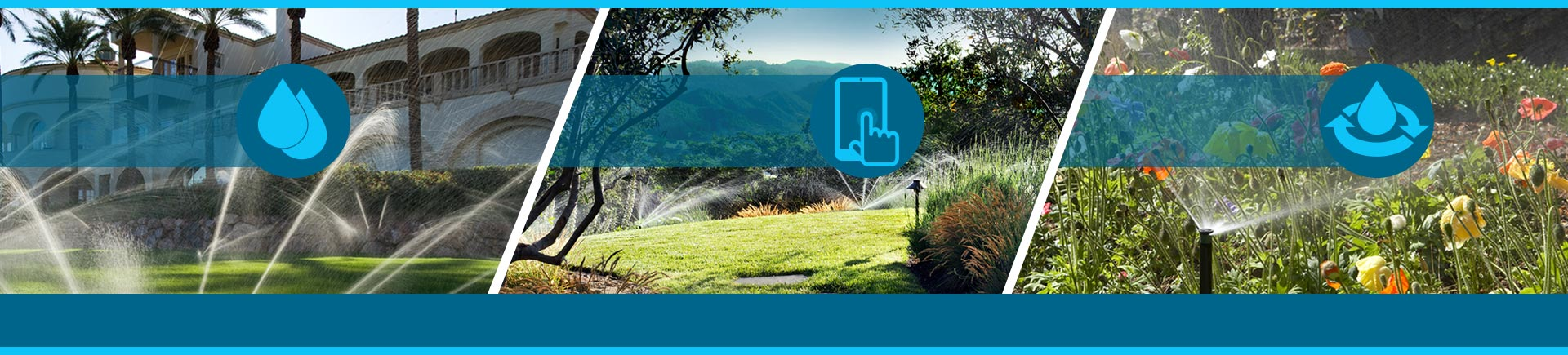 Save water, Manage remotely, and Service your customers irrigation systems online