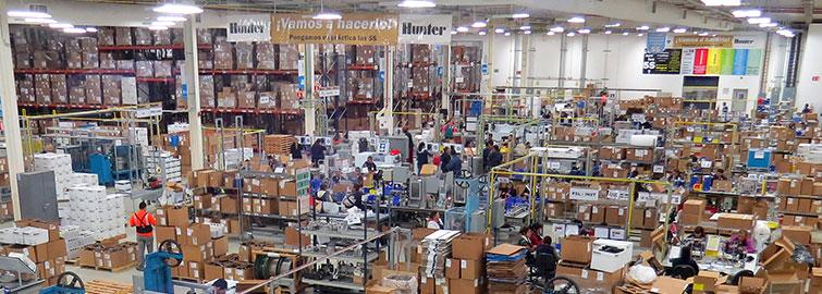 Hunter Industries Sprinkler Manufacturing Facility