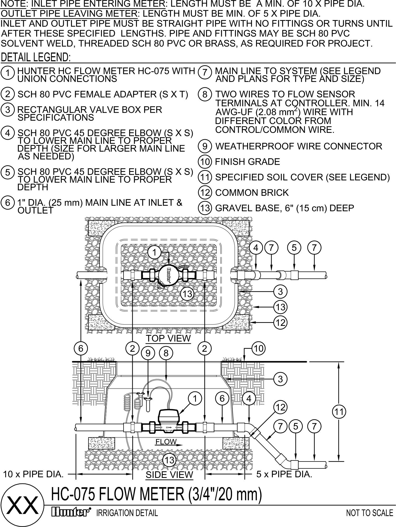 CAD - HC Flow Meter-075
