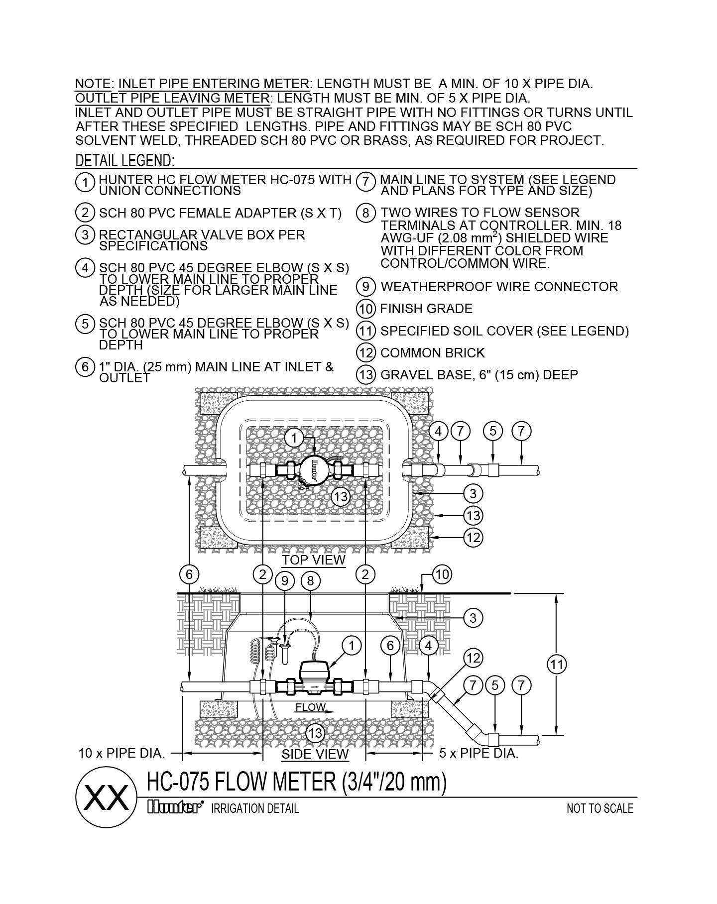 CAD - Flowmeter HC-075