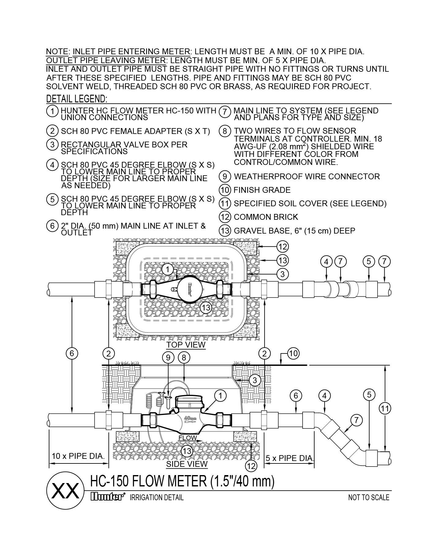 CAD - FlowMeter HC-150