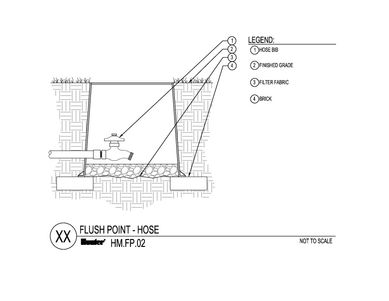 CAD - Flush Point with Hose