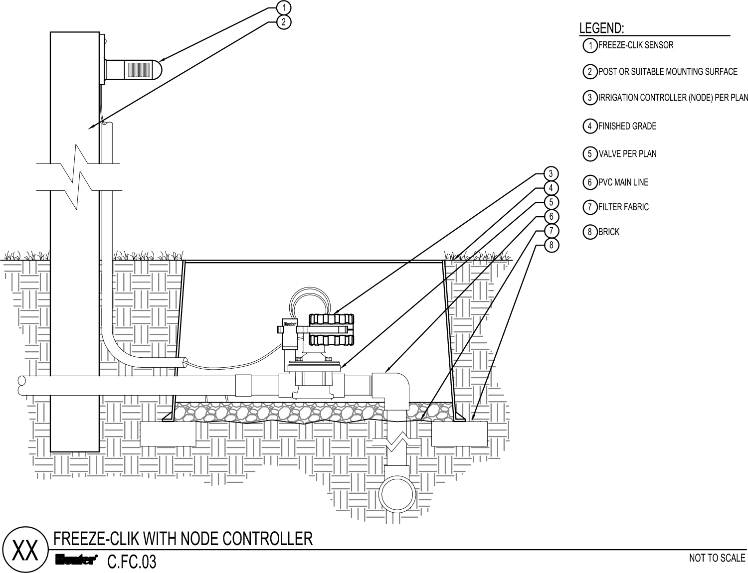 CAD - Freeze Clik with Node Controller