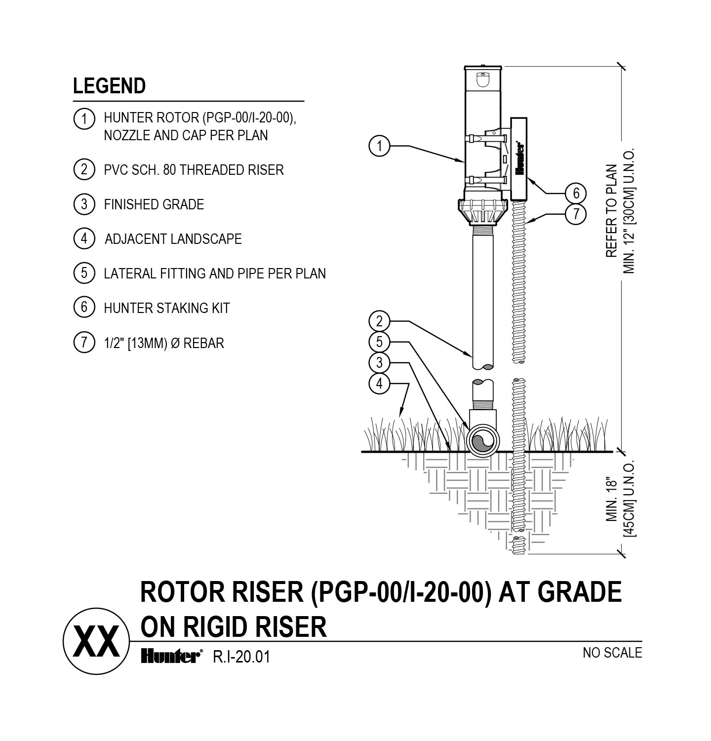 CAD - I-20-00 PGP-00 on grade with rigid riser