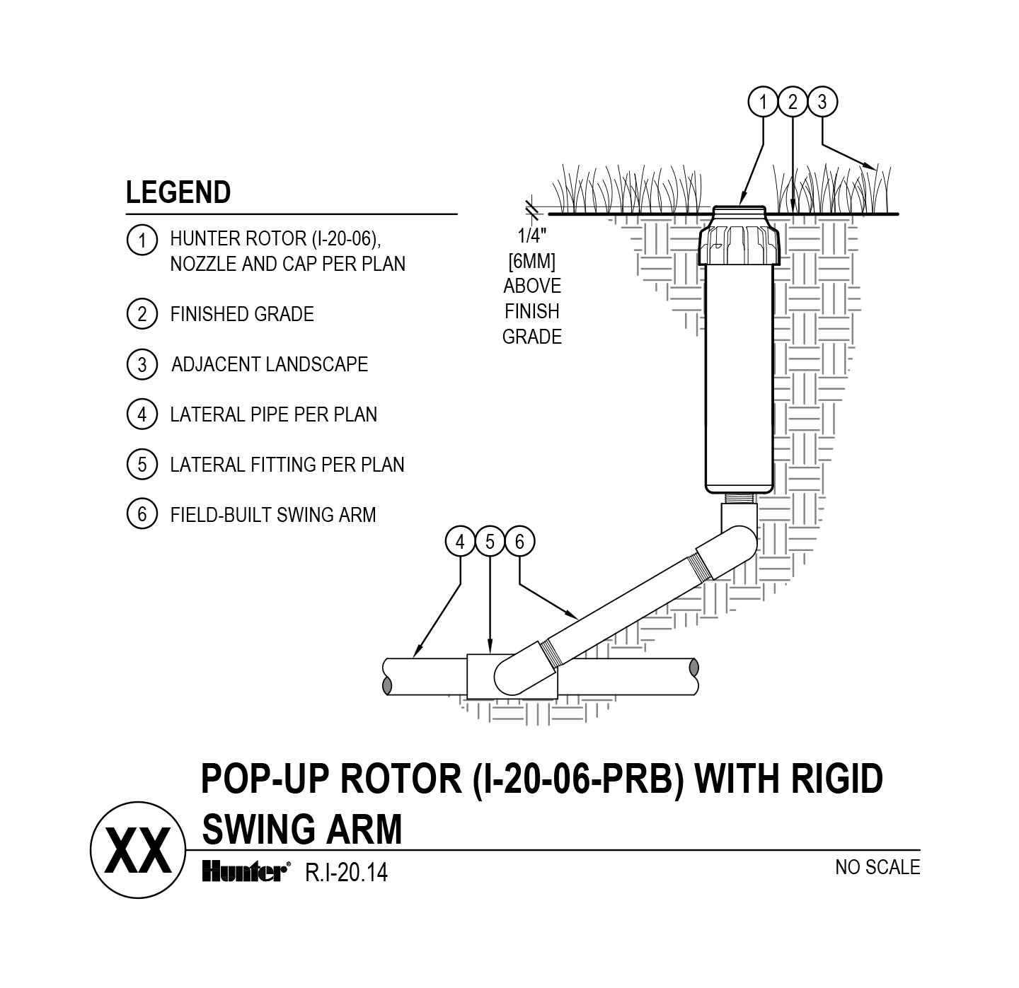 CAD - I-20-06-PRB with swing arm
