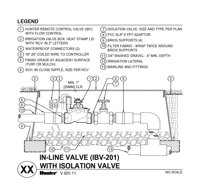 CAD - IBV-201G with shutoff valve