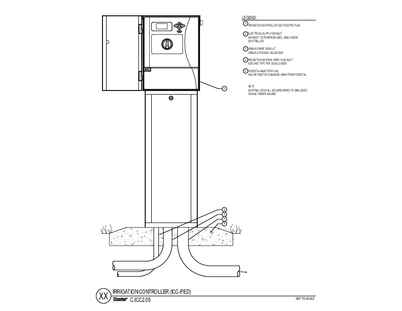 CAD - ICC2 Metal Pedestal