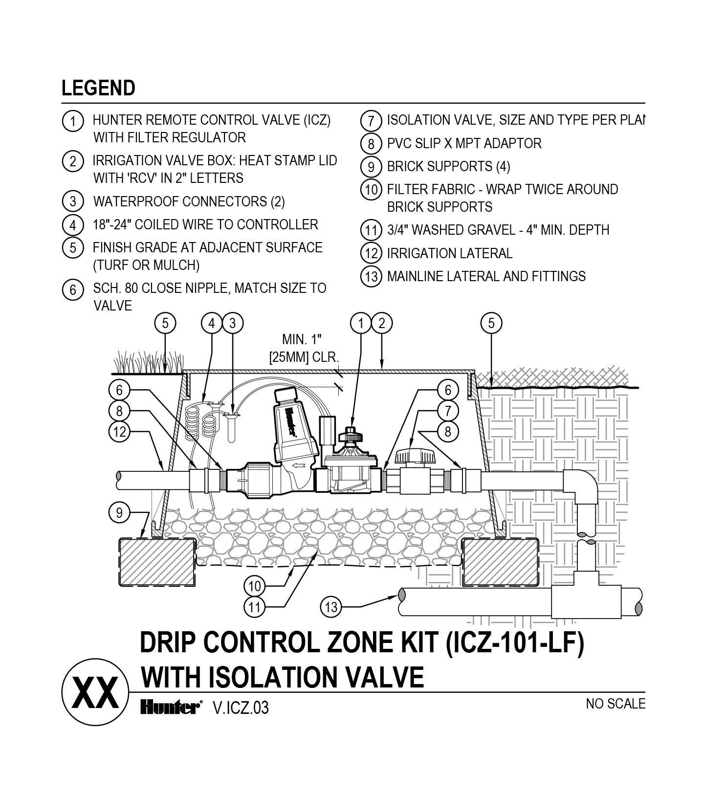 CAD - ICZ-101-LF with Shutoff Valve