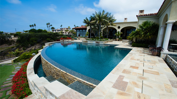 La Jolla House with Sprinklers from Hunter