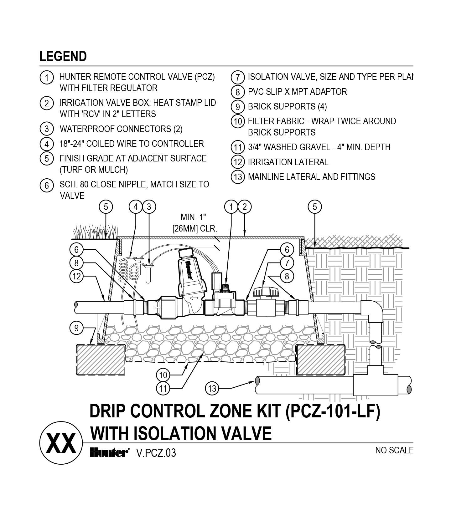 CAD - PCZ-101-LF with Shutoff Valve