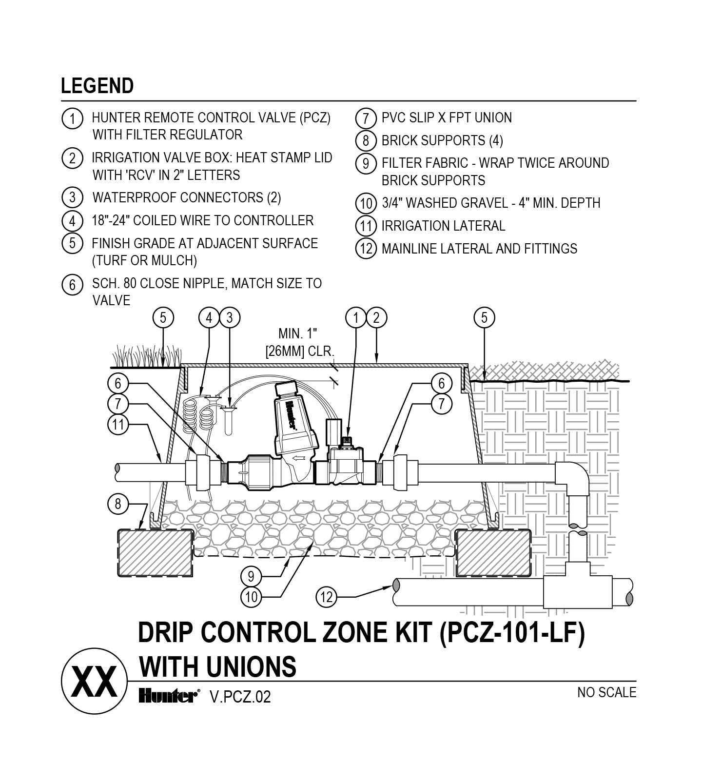 CAD - PCZ-101-LF with Unions
