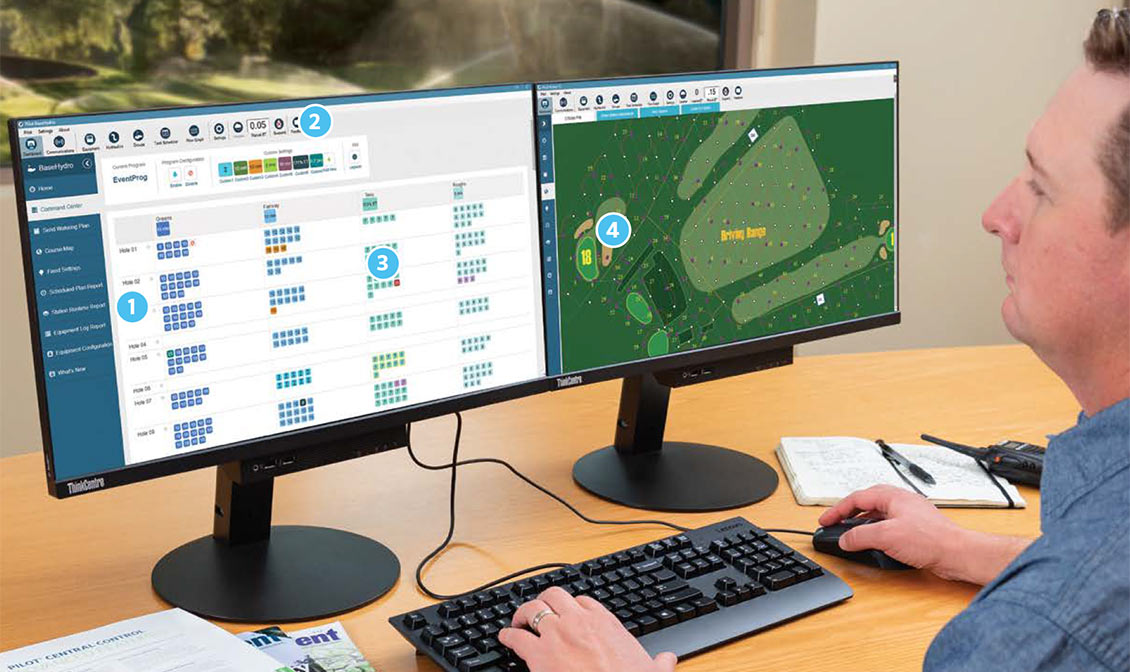 Visualize Your Entire Course with next-generation Pilot Command Center software