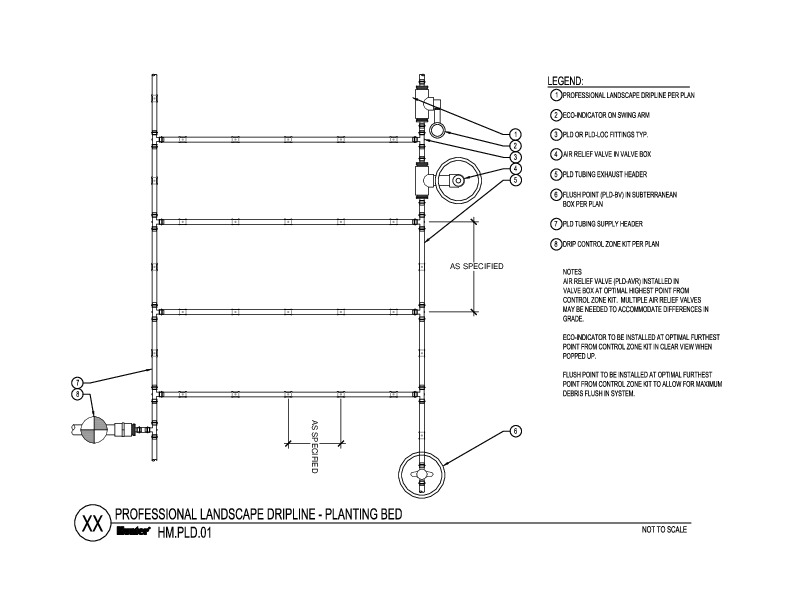 CAD - PLD Planting Bed End Feed