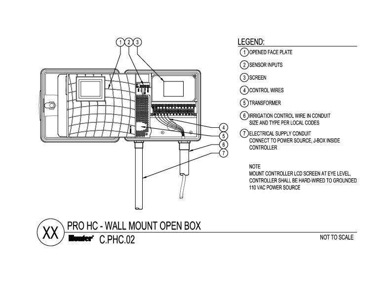 CAD - Pro-HC open box with wires