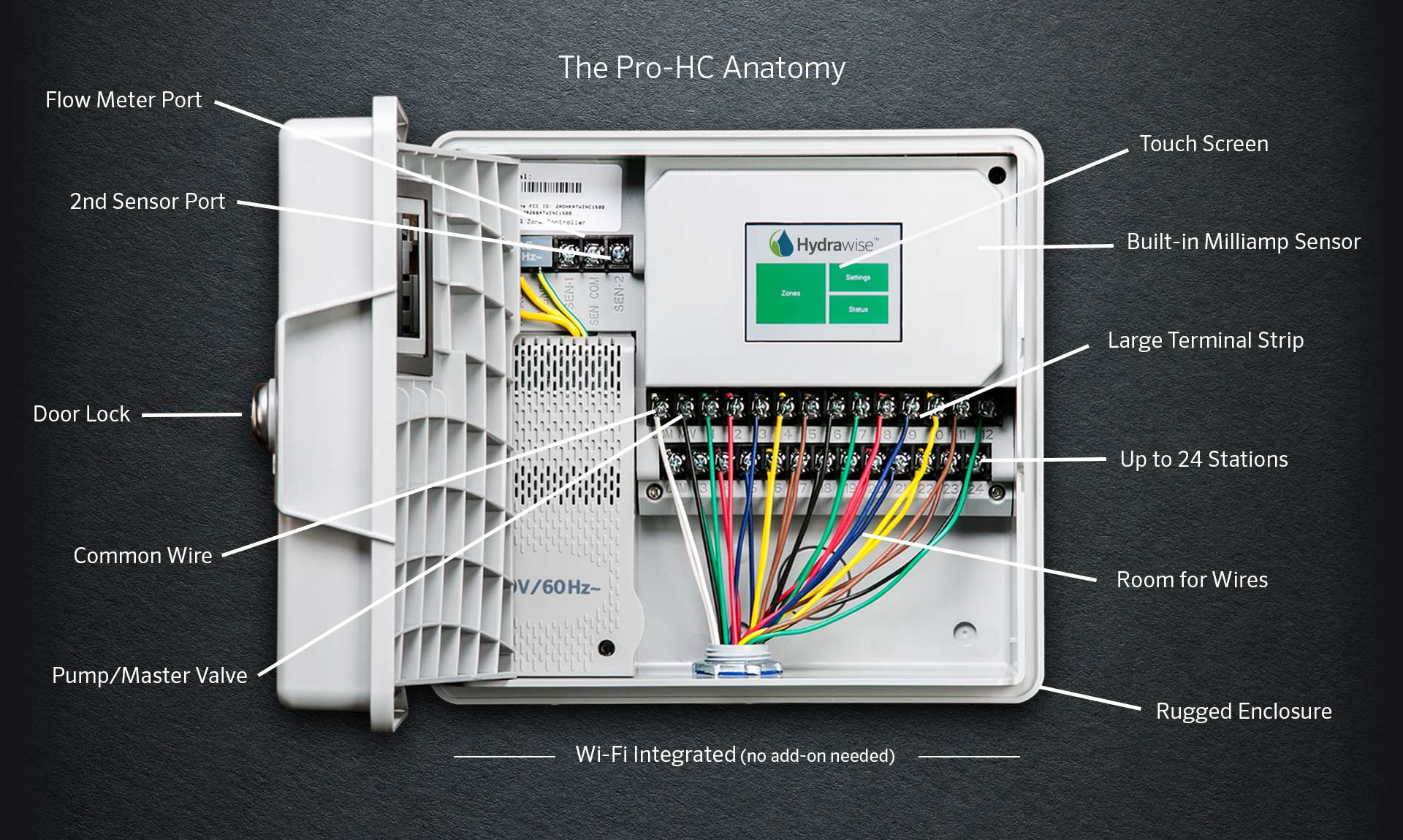 pro hc hunter industries Hunter Fan Wiring Schematic