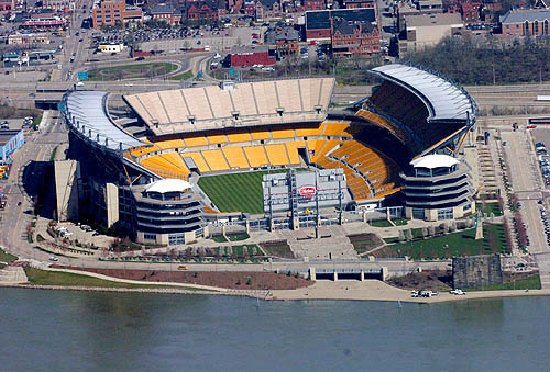 7201f8167 Heinz Field + Hunter rotors   grass to die for.