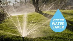 MP Rotator - Udowodniona oszczędność wody