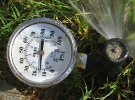 MP Rotator Pressure Gauge