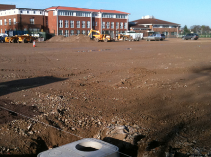 Irrigation Construction Site