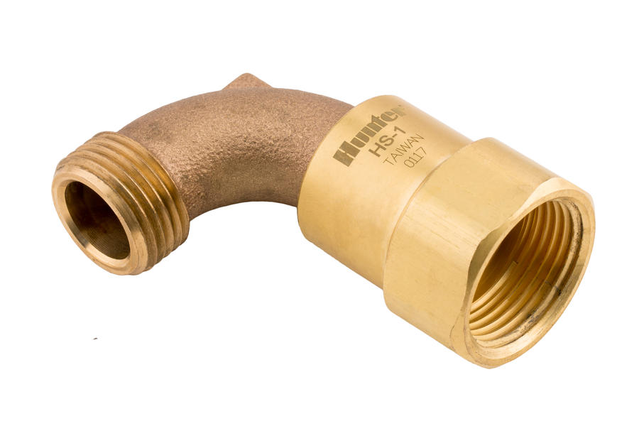 "Hunter HS1 1"" Inlet, 3/4"" Hose Outlet"