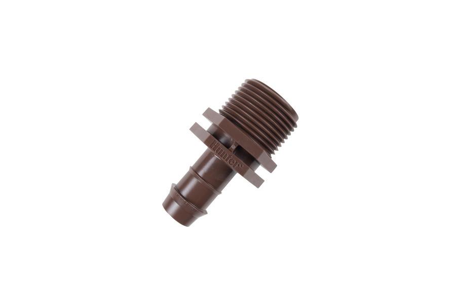 """Hunter PLD-075 3/4"""" MPT x 17 mm Barb"""