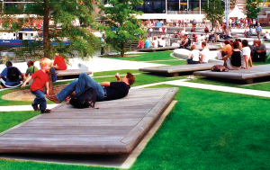 Eco-Mat Used in Public Park