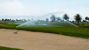 Galveston Golf Course Sprinklers