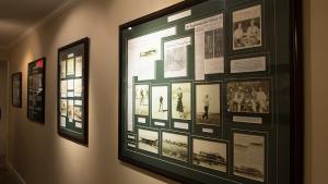 Galveston Golf Course Historical Hallway