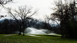 Golf Irrigation on Glen Erin Golf Course