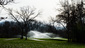 Golf Irrigation on Glen Erin Golf Course