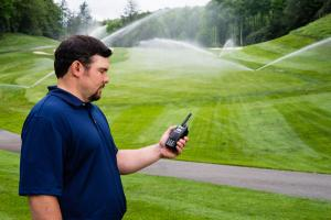 Controlling Golf Course Irrigation System