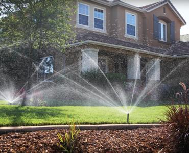 Efficient Sprinklers for Lawn