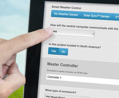 Commercial Irrigation Controller Configurator