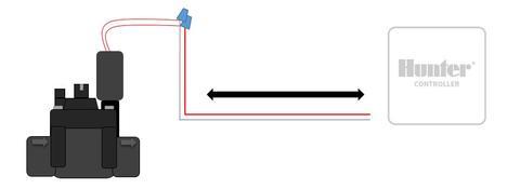 HC - Valve Wiring Distance   Hunter Industries Ac Solenoid Wiring on