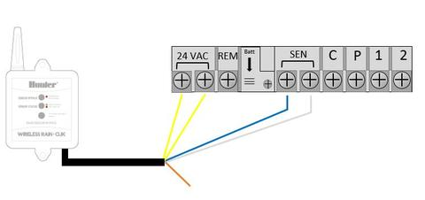 Wet Contact Flow Switch Wiring Diagram on