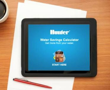 Water Savings Calculator for Efficient Lawn Sprinkler Systems