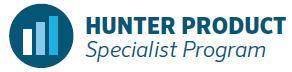 Hunter Product Specialist Program