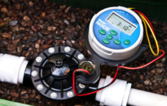 Node Battery Operated Sprinkler Timer