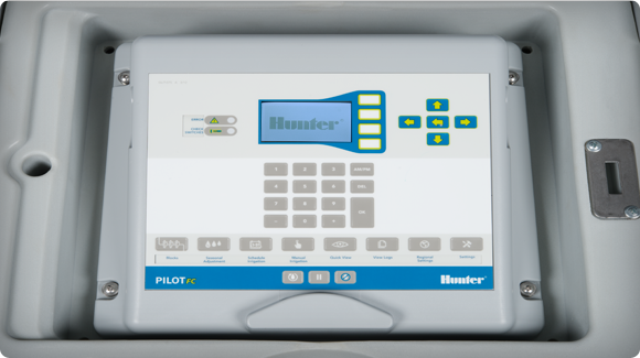 Pilot Control Buttons