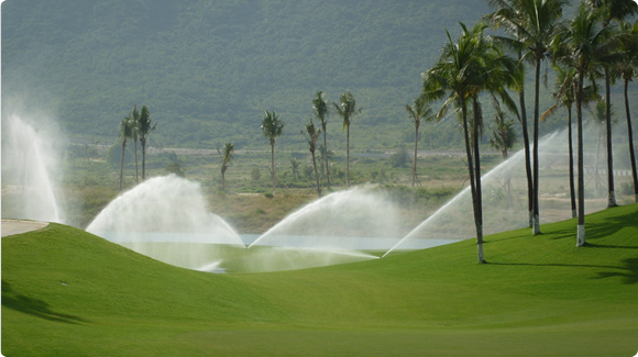 Large Golf Sprinklers