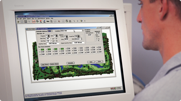 Central Control Software for Golf Courses